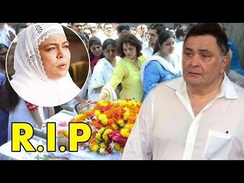 रीमा लागू की मौत पर शोक में डूबा बॉलीवुड...