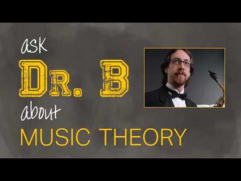 Ask Dr.  B About Music Theory, Episode 14 (Texture, NCT vs Chord Tone)