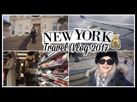 NEW YORK TRAVEL VLOG | $3000 Shopping Madness, Snow Storm & More!!