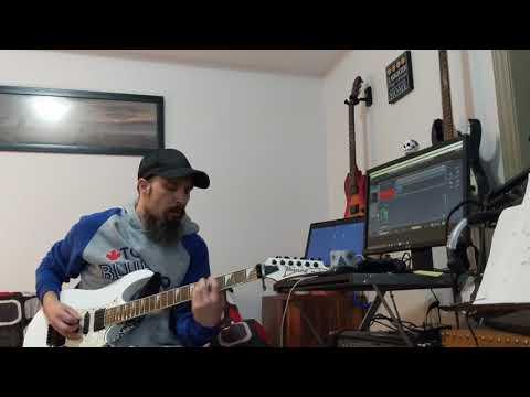 Spark In the Dark - Alice Cooper Guitar Cover!