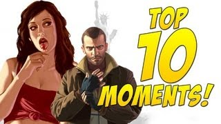 Top 10 Greatest Moments in GTA IV (GameSprout)