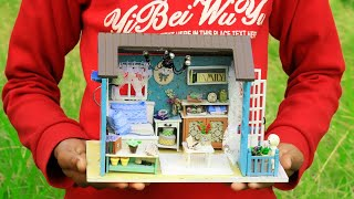 DIY Miniature Dollhouse~Miniature Dollhouse Rooms For Boys~DIY Doll Crafts with working Lights