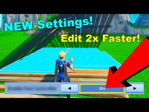 This NEW Controller Settings Let's You Edit Like Keyboard and Mouse in Fortnite Season 10!