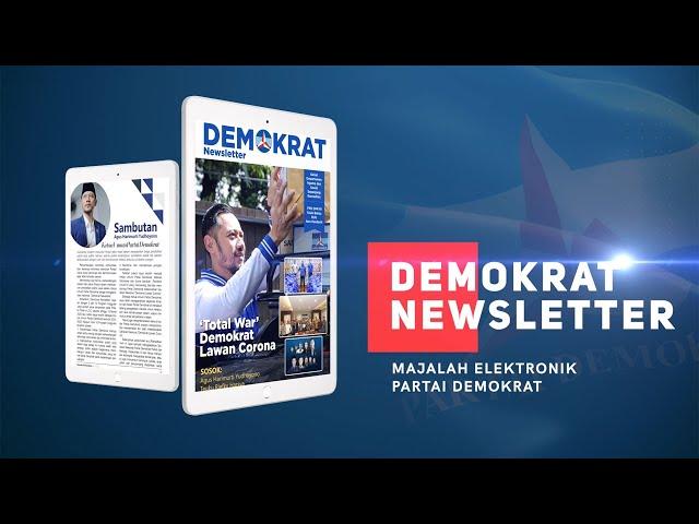 Peluncuran Demokrat Newsletter, Media Digital Partai Demokrat