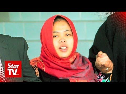 Indonesian Siti Aisyah longs to go home