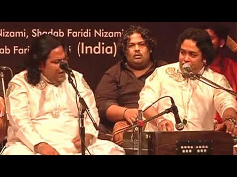 Enjoy the traditional Sufi music by Sabri Brothers