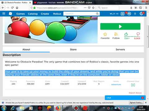 Code Roblox Obstacle Paradise 2019 Youtube - obstacle paradise roblox codes