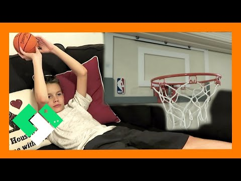 🏀 COUCH BASKETBALL CHALLENGE 🏀 (Day 1641) | Clintus.tv
