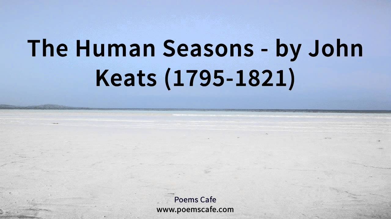 the human seasons by john keats