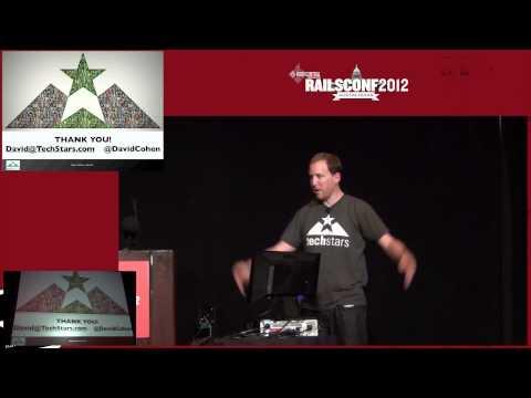 Keynote by David Cohen of TechStars