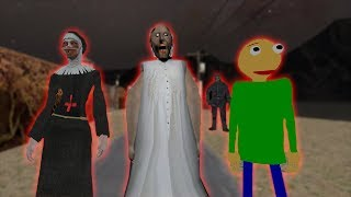 Granny vs Mr Meat vs Jason funny animation part 59