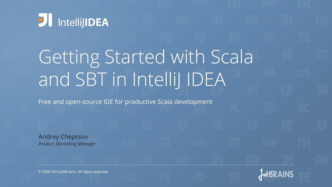 Getting Started with Scala and SBT in IntelliJ IDEA - YouTube
