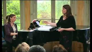 Teresa Berganza Singing Master Class (French, Part 1)