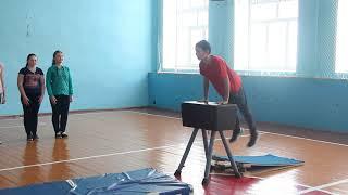 фрагмент урока по физкультуре