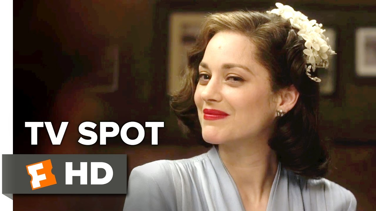 Allied Tv Spot Prove 2016 Marion Cotillard Movie Youtube