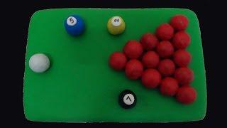 Billiards/snooker Table Cake