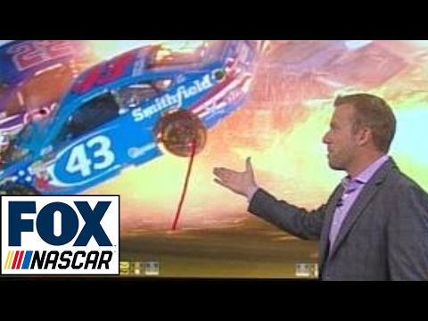 Breaking Down Aric Almirola's Violent Impact  | NASCAR RACE HUB