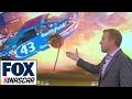 Breaking Down Aric Almirolas Violent Impact at Kansas Speedway | NASCAR RACE HUB