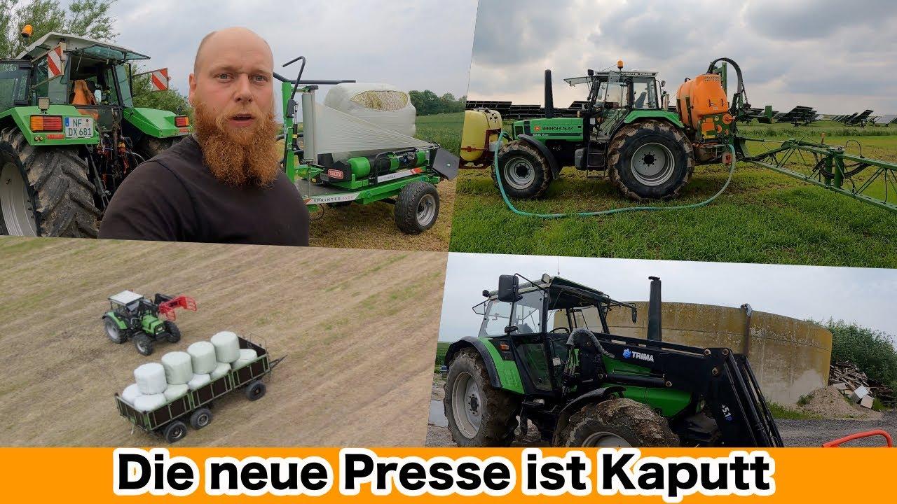 FarmVLOG#454 - Die neue Presse ist kaputt