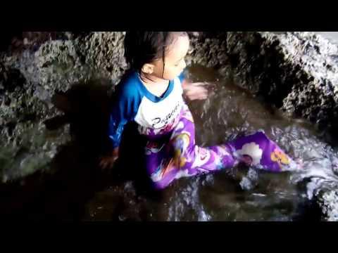 Putri duyung pantai batukaras pangandaran#Alifia