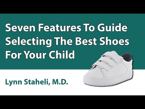 Seven Features To Guide Selecting The Best Shoes For Your Child