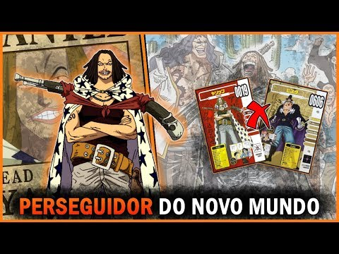 O PASSADO DE YASOPP O PERSEGUIDOR DO NOVO MUNDO  Vivre card do Yasopp