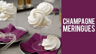 How to make Champagne Meringue Cookies