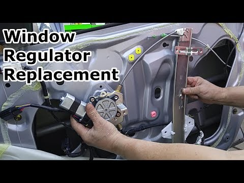 Window Regulator & Motor Replacement – Acura TL