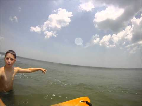 Dalton,Charlie and Tessa Surfing