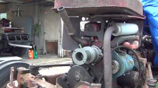 Water pump replacment on the 600 ford tractor. Part 2