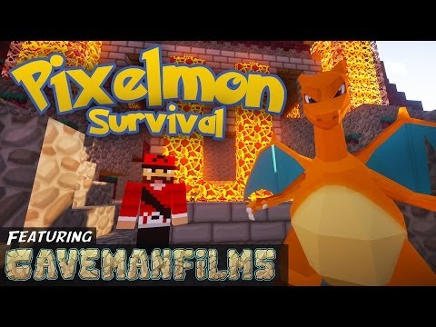 Minecraft Pixelmon [Season 2: Part 29] -  The Fire Gym Leader Feat. Cavemanfilms