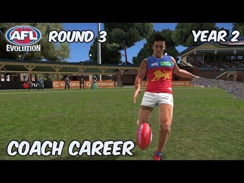 REALITY CHECK - AFL Evolution: Coach Career - Round 3 (Year 2)