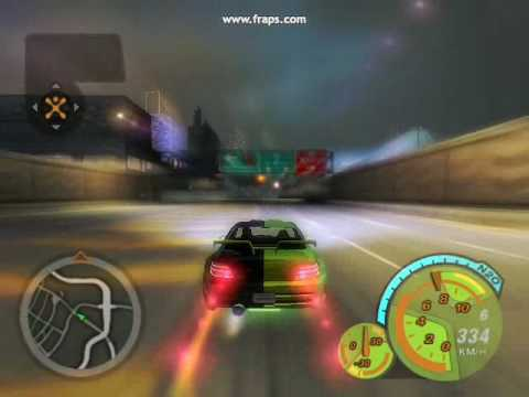 Chingy - I Do NFS Track And Cars 350 km+.wmv