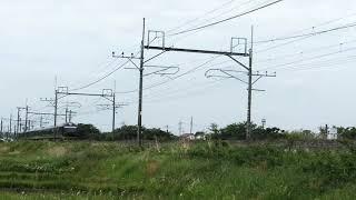 快速 リゾート那須野満喫号 485系 リゾートやまどり 東北本線 東大宮~蓮田間 通過