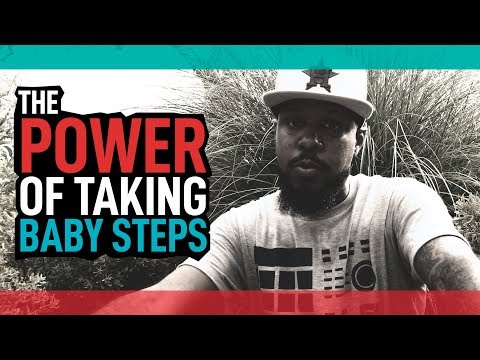The Power of Taking Baby Steps // Jewel Drop of the Day #14