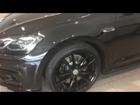 Volkswagen Golf R 310 PS 5dr DSG in Deep Black @ Crewe VW