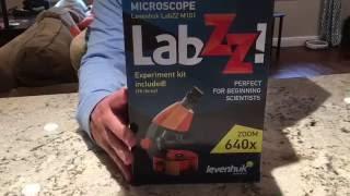 Levenhuk LabZZ M101 Microscope Video Review