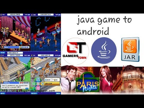 Paris Night Java To Android Series By Gamers Town
