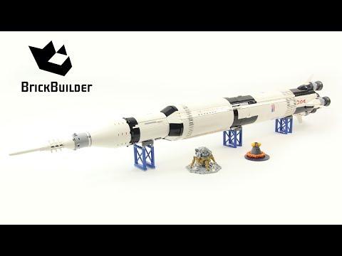 Lego Ideas 21309 NASA Apollo Saturn V - Lego Speed Build