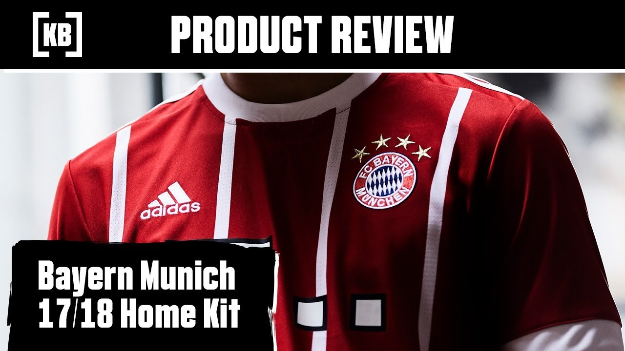 new style def0c 18cae Bayern Munich 17/18 Home Kit Product Review | Kitbag
