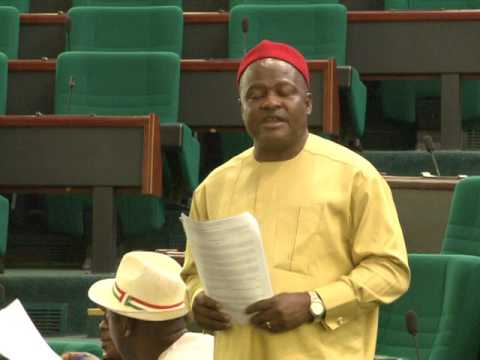 Hon Sylvester Ogbaga,13 July 2017 Motion on illegal concession of some  public enterprises through - YouTube