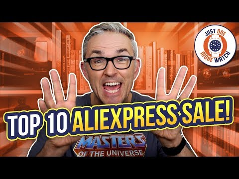 Top 10 AliExpress Mid-Year Sale Watches!