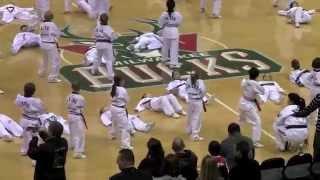 J.K. Lee Black Belt Martial Arts Demo Team - Bucks Halftime 2011