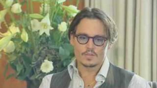 johnny depp talks about how is to be an actor