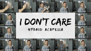 Ed Sheeran & Justin Bieber - I Don't Care (HYBRID ACAPELLA) on Spotify & Apple Video