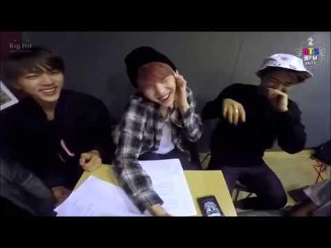 Suga (BTS) singing i need u (SO FUNNY)