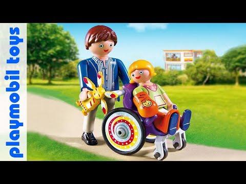 Unpack Playmobil City Life 6663 Child in Wheelchair