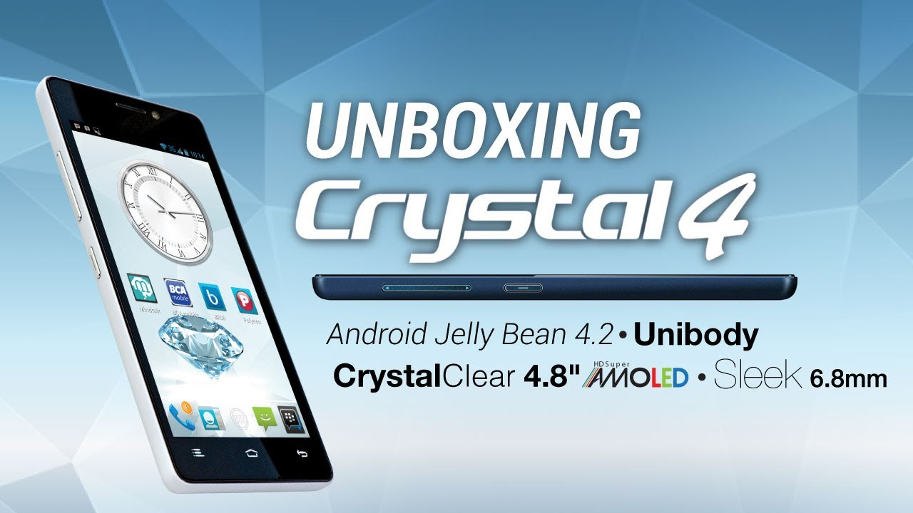 Unboxing Review Polytron Crystal 4 Youtube