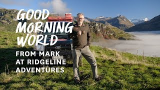Good Morning World | Trade | Ridgeline Adventures