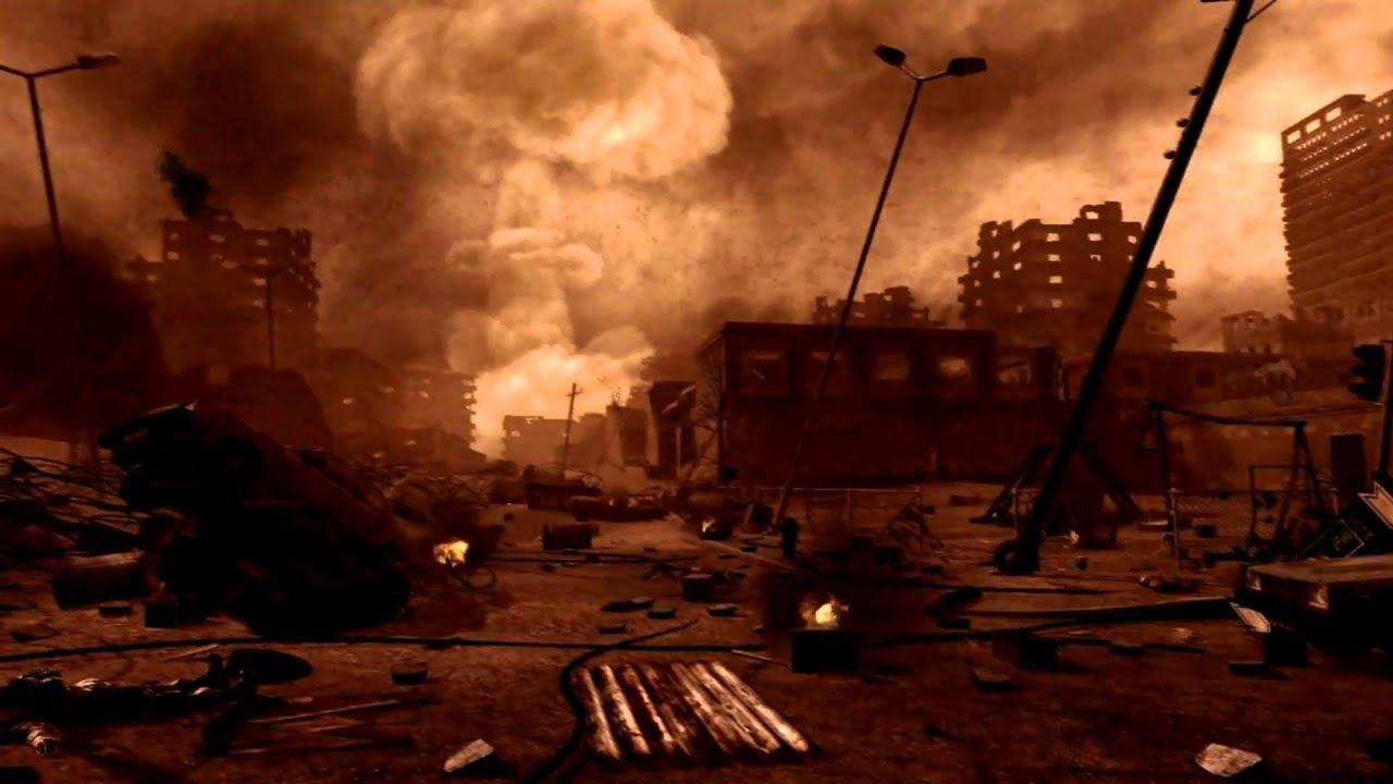 CoD4: Modern Warfare - Nuke scene + Aftermath (1080p HD) - YouTube